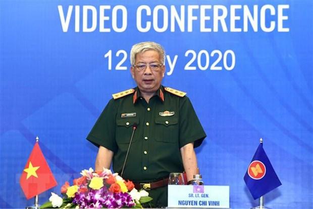 Viet Nam chu tri hoi nghi truc tuyen quan chuc quoc phong ASEAN hinh anh 2