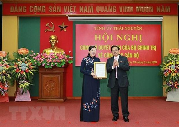 Truong ban Dan nguyen Nguyen Thanh Hai lam Bi thu Tinh uy Thai Nguyen hinh anh 1