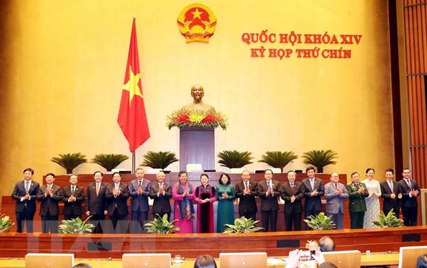 Phe chuan danh sach Pho Chu tich va Uy vien Hoi dong Bau cu quoc gia hinh anh 1
