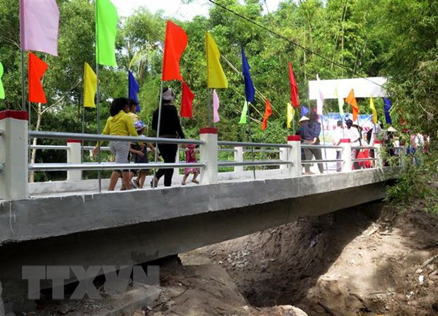 Quang Ngai: Xay cau kien co tai vung thuong xuyen bi co lap vi mua lu hinh anh 1