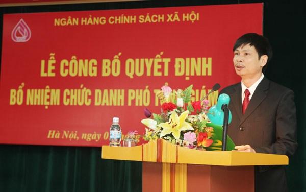 Thu tuong bo nhiem nhan su moi tai Ngan hang Chinh sach xa hoi hinh anh 1