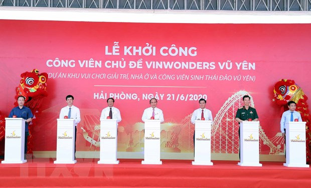 Thu tuong Nguyen Xuan Phuc tiep xuc cu tri tai Hai Phong hinh anh 2