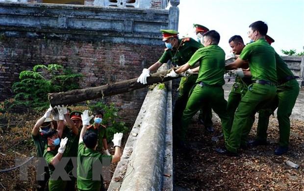 Thua Thien Hue: Hoan tra hien trang di tich tai khu vuc Thuong Thanh hinh anh 1