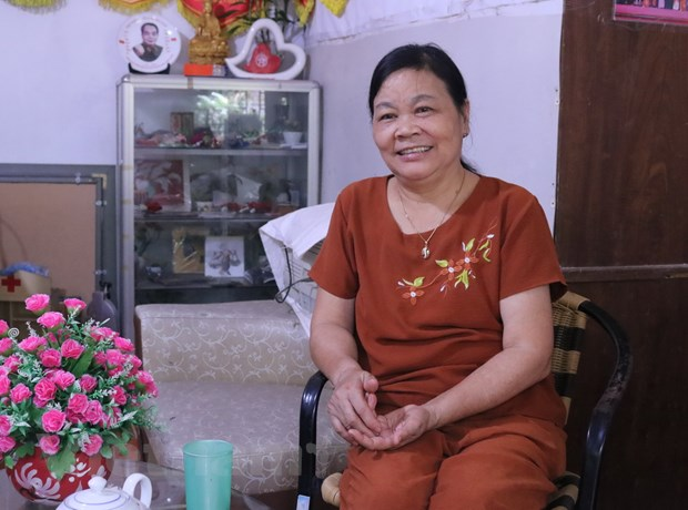 Nguoi me cua trung tam day nghe thien nguyen cho tre khuyet tat hinh anh 1