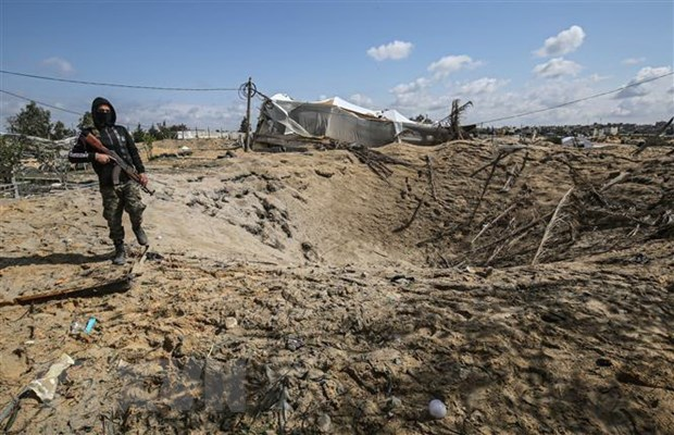 Cac phe phai tai Gaza doan ket chong ke hoach sap nhap cua Israel hinh anh 1