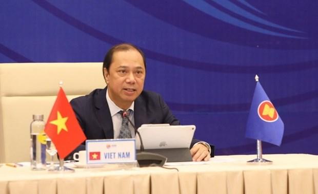 Hoi nghi Tham van Quan chuc cao cap ASEAN-Trung Quoc lan thu 26 hinh anh 1