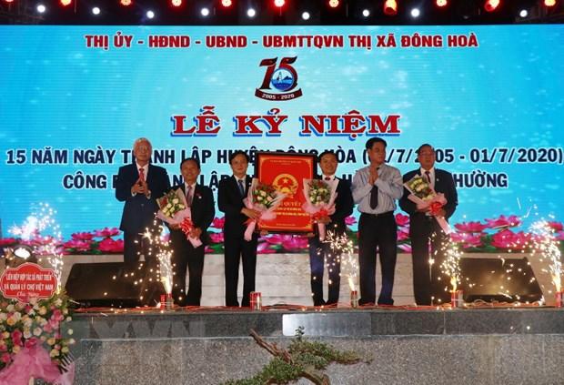 Phu Yen: Cong bo nghi quyet ve viec thanh lap thi xa Dong Hoa hinh anh 1