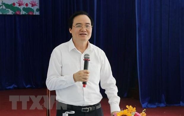 Bo truong Giao duc: 'Nghiem tuc trong moi khau cua ky thi tot nghiep' hinh anh 1