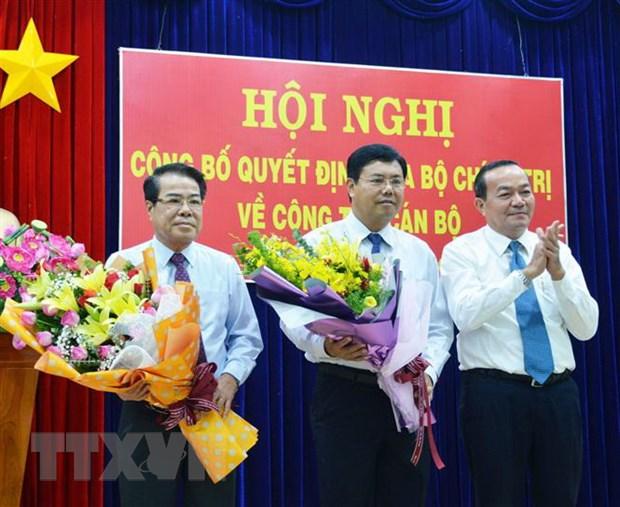 Bo Chinh tri chuan y ong Nguyen Tien Hai lam Bi thu Tinh uy Ca Mau hinh anh 2