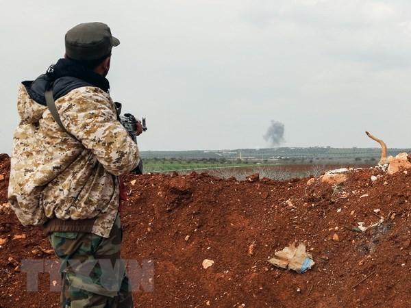SOHR: IS gia tang tan cong tai khu vuc hoang mac o Syria hinh anh 1