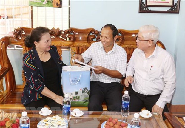 Chu tich Quoc hoi: Binh Phuoc chu trong doi moi mo hinh tang truong hinh anh 1
