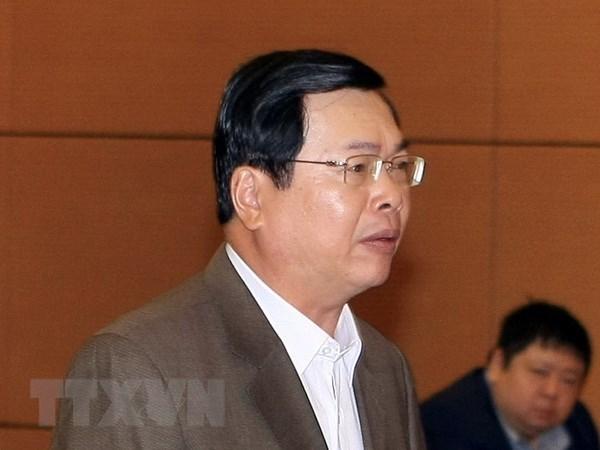 Truy to cuu bo truong Vu Huy Hoang, truy na bi can Ho Thi Kim Thoa hinh anh 1