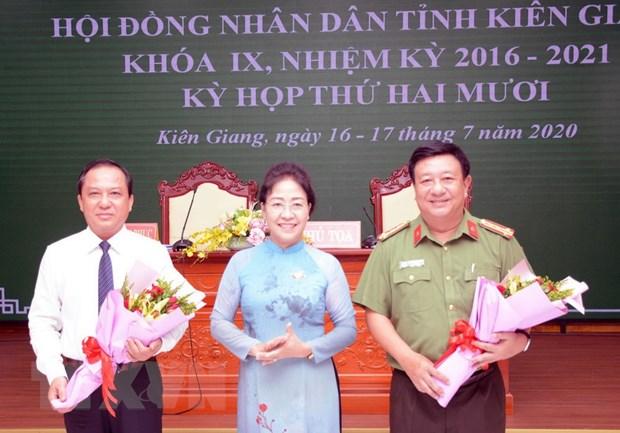 Bau bo sung Pho Chu tich Uy ban Nhan dan tinh Kien Giang hinh anh 1