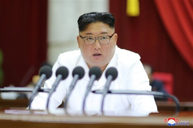 Nha lanh dao Trieu Tien Kim Jong-un du cuoc hop Quan uy Trung uong hinh anh 1