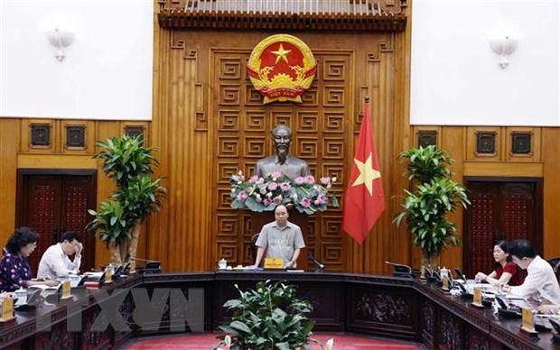 Thu tuong Nguyen Xuan Phuc: Khong de nen kinh te tang truong am hinh anh 2