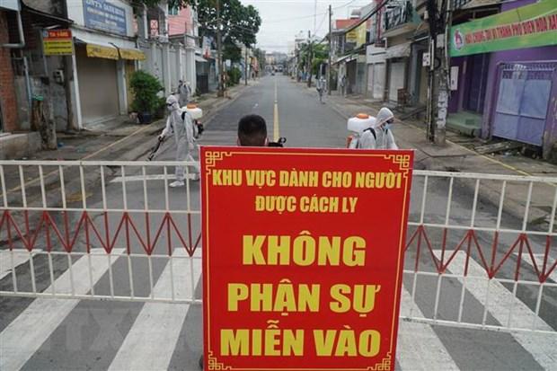 Dong Nai tien hanh phong toa duong Ho Van Dai, cach ly 200 ho dan hinh anh 1