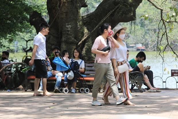 Ha Noi: Khong deo khau trang noi cong cong co the bi phat 300.000 dong hinh anh 1