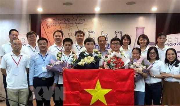 Hanh trinh den voi HCV Olympic Hoa hoc cua cau hoc tro Hai Phong hinh anh 1
