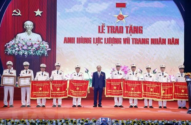 Thu tuong du Dai hoi 'Vi an ninh To quoc' luc luong cong an nhan dan hinh anh 2