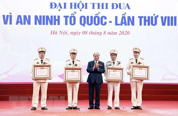 Thu tuong du Dai hoi 'Vi an ninh To quoc' luc luong cong an nhan dan hinh anh 1