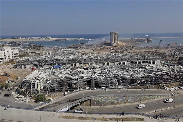 Vu no o Beirut: IMF san sang tang gap doi no luc ho tro Liban hinh anh 1