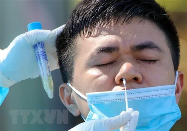 Tang nang luc xet nghiem SARS-CoV-2 thong qua phuong phap gop mau hinh anh 1