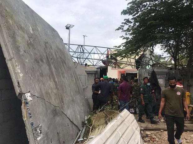 Campuchia: Sap can cau xay dung tai Banteay Meanchey, 5 nguoi chet hinh anh 2