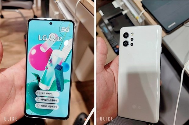 Hang LG tung ra mau smartphone tam trung 5G tai Han Quoc hinh anh 1