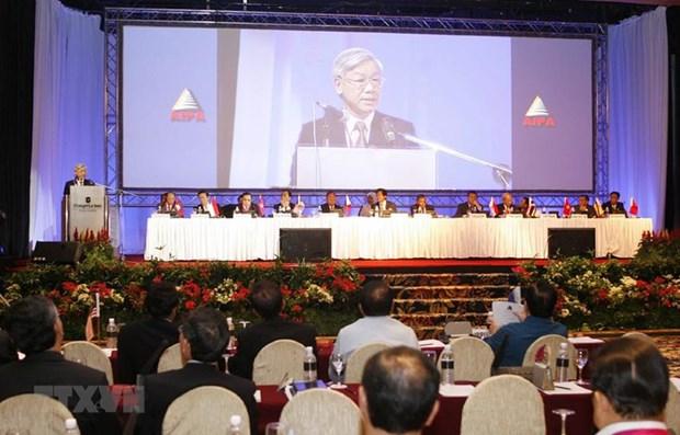 Nhung dau an cua AIPA trong viec lien ket cac nuoc ASEAN hinh anh 2