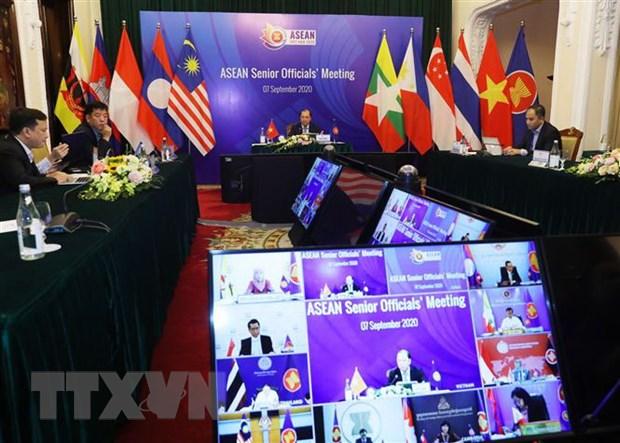 Hoi nghi quan chuc cao cap ASEAN chuan bi cho AMM 53 hinh anh 1