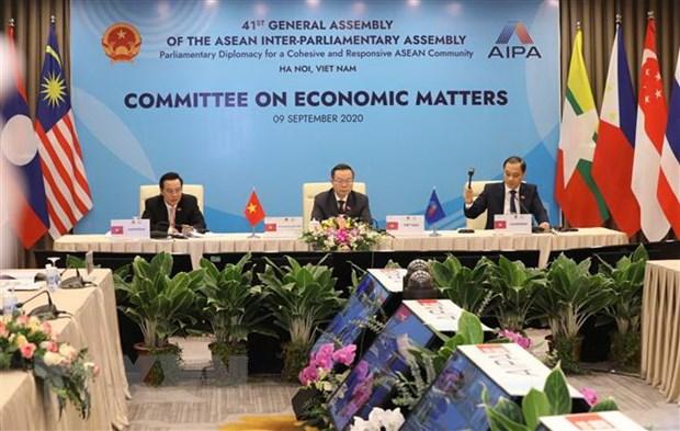 AIPA 41: Gan ket va phuc hoi kinh te ASEAN sau dich COVID-19 hinh anh 2