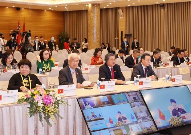 Các đại biểu Việt Nam dự phiên họp. Ảnh: Trọng Đức/TTXVN
