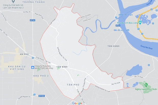 Binh Duong: Hai cong nhan tu vong do va cham voi xe container hinh anh 1