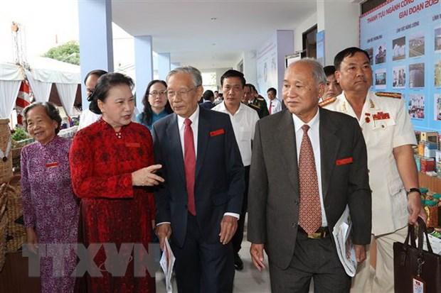 Chu tich Quoc hoi: Can Tho phai la hinh mau o khu vuc Tay Nam Bo hinh anh 2