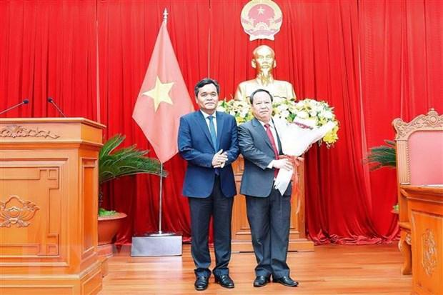 Ong Chau Ngoc Tuan duoc bau lam Chu tich HDND tinh Gia Lai hinh anh 1