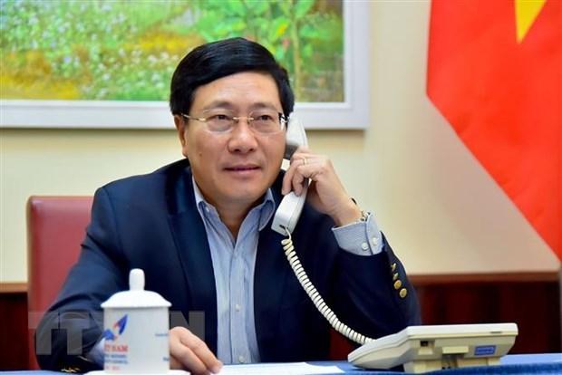 Pho Thu tuong: Viet Nam coi trong quan he Doi tac chien luoc voi Duc hinh anh 1