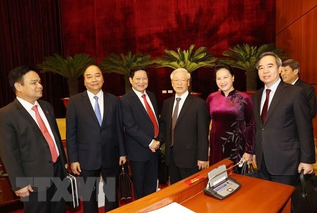 Be mac Hoi nghi lan thu 13, Ban Chap hanh Trung uong Dang khoa XII hinh anh 1