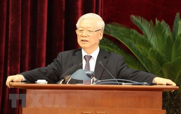 Be mac Hoi nghi lan thu 13, Ban Chap hanh Trung uong Dang khoa XII hinh anh 2