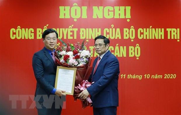 Ong Le Quoc Phong duoc gioi thieu de bau lam Bi thu Tinh uy Dong Thap hinh anh 1