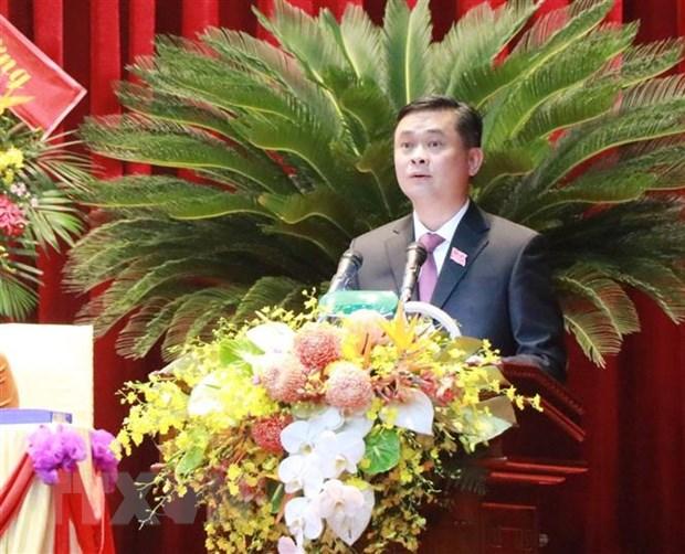 Ong Thai Thanh Quy tai dac cu Bi thu Tinh uy Nghe An khoa XIX hinh anh 1