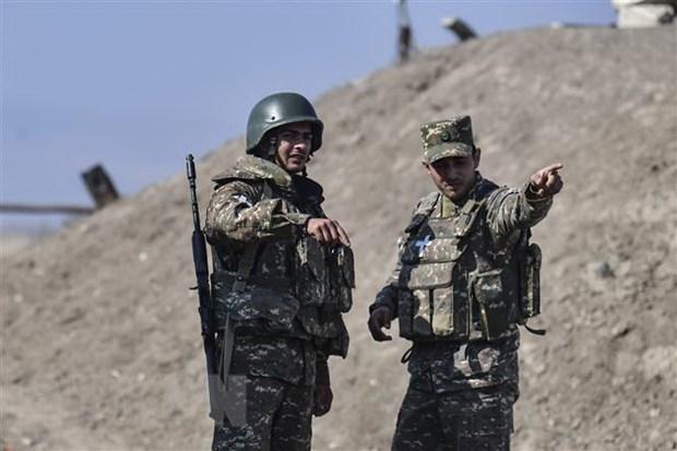 Xung dot tai Nagorny-Karabakh: Nga va Phap hoi thuc cac ben dam phan hinh anh 1