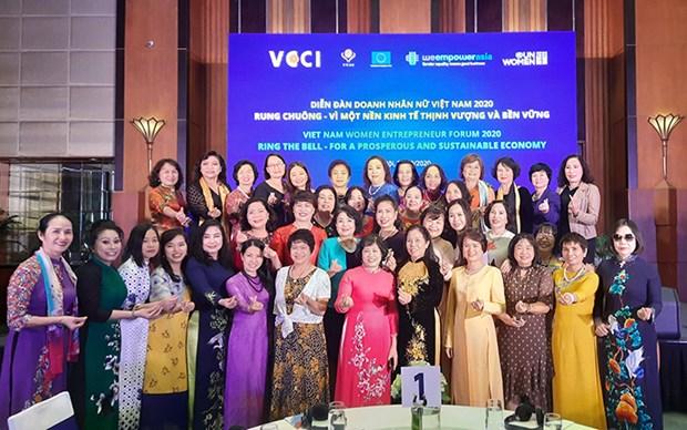 Dien dan Doanh nhan nu Viet Nam 2020: Trao quyen nhieu hon cho phu nu hinh anh 1