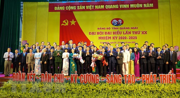 Xay dung Quang Ngai thanh tinh phat trien kha cua mien Trung hinh anh 1