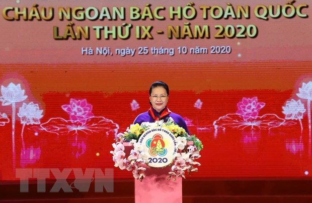 Dai hoi Chau ngoan Bac Ho: Vinh danh nhung 'bong hoa nghin viec tot' hinh anh 1