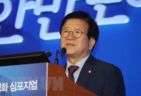 Chu tich Quoc hoi Han Quoc Park Byeong-Seug se tham Viet Nam hinh anh 1