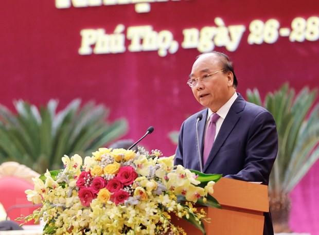 Thu tuong Nguyen Xuan Phuc: Dua Phu Tho tro thanh tinh tien tien hinh anh 1