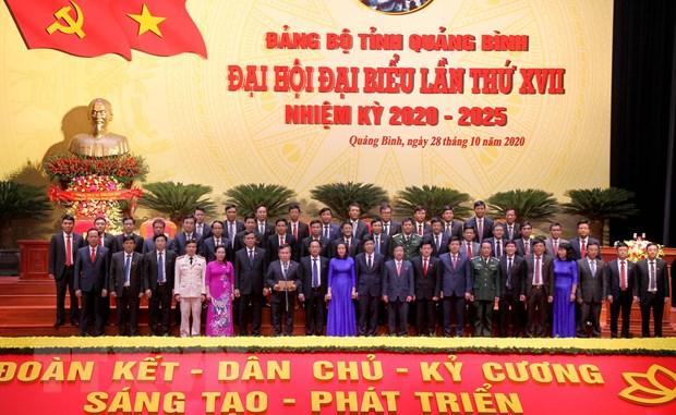 Ong Vu Dai Thang duoc bau tiep tuc giu chuc Bi thu Tinh uy Quang Binh hinh anh 2