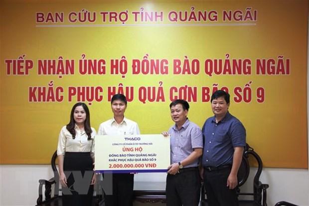 Bao so 9: Quang Ngai tiep nhan hon 63 ty dong ho tro nguoi dan hinh anh 1