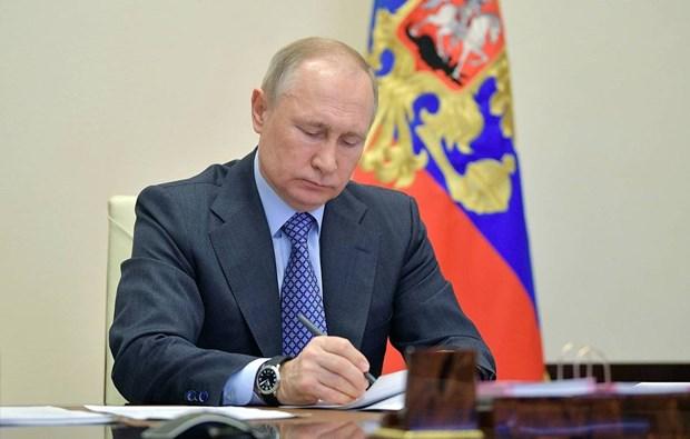 Tong thong Nga Putin ky ban hanh luat thanh lap chinh phu hinh anh 1