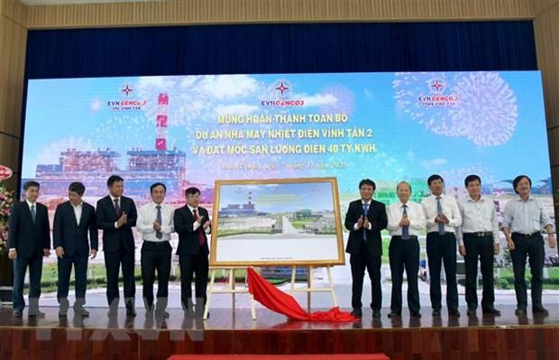 Nha may Nhiet dien Vinh Tan 2 dat moc san luong dien 40 ty kWh hinh anh 2